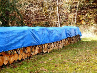 Anchoring for tarp