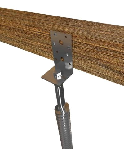 GroundPlug® Twister™ footings