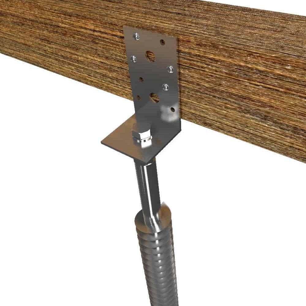 Montering af GroundPlug® Twister<sup>TM</sup> fundament