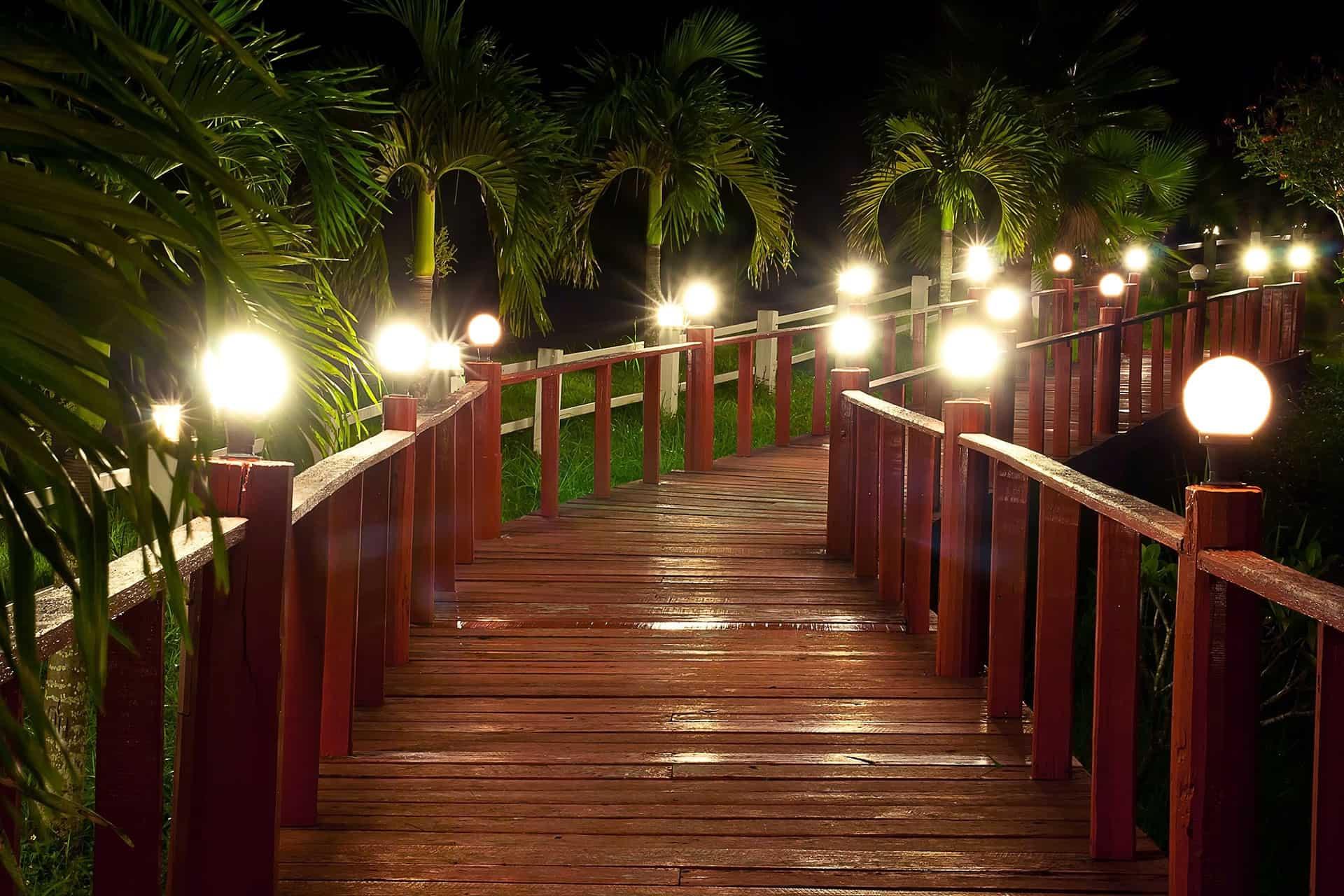 Walkway footings - also for elevated boardwalk