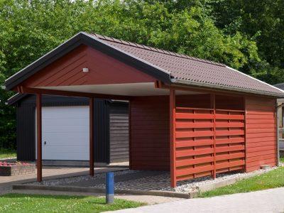 Screw piles for modular homes