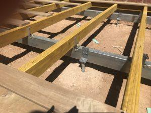 Screw pile foundation