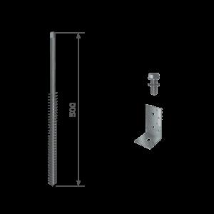 Schraubfundament GroundPlug Twister M10/500mm