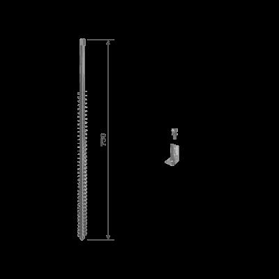 Schraubfundament GroundPlug Twister M12/750mm