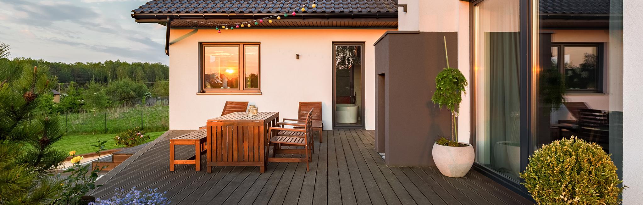 Terrasse-pakker