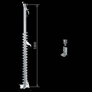 Schraubfundament GroundPlug Twister M20/1500mm