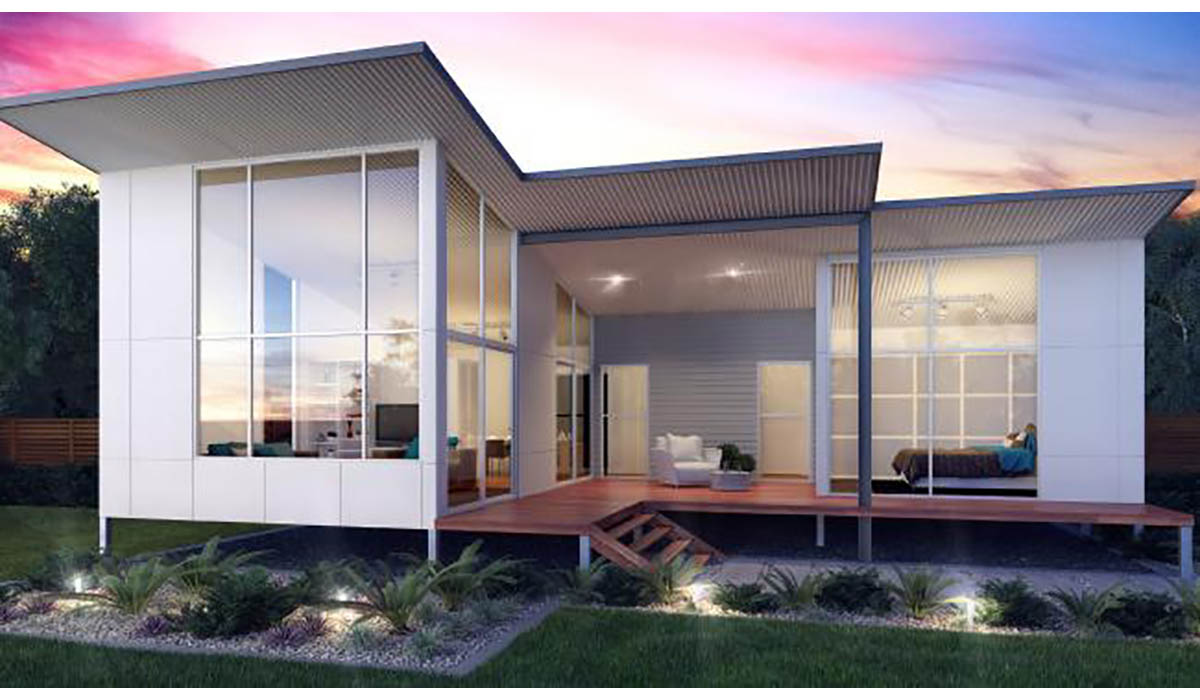 Screw piles for granny flats and modular homes